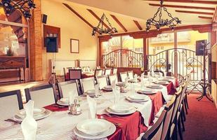 Restaurant Interieur foto