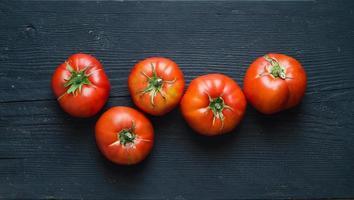 Bio-Tomaten foto