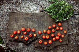 frische Tomaten foto