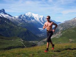 Trailrunning in Chamonix foto