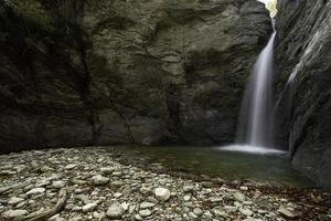 Wasserfall in Wudang foto