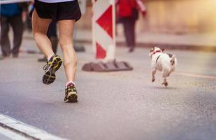 junger Läufer