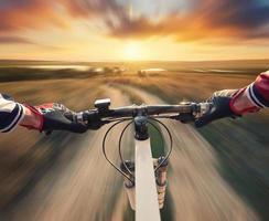 schnelle Fahrt foto