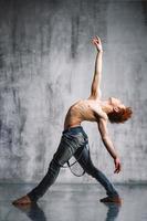 zeitgenössischer Tänzer