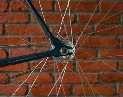 Fahrradkettenblatt foto