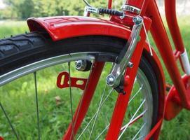 Fahrraddetail foto