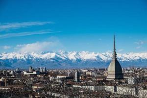 Maulwurf Antonelliana und Alpen
