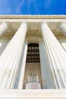 Abraham Lincoln Memorial Gebäude Washington DC foto
