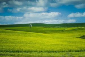 Windmühle auf dem Bauernhof