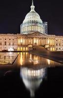 US Capitol North Side Bau Nacht Sterne Washington DC Ref foto