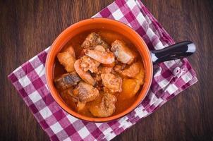 Fischsuppe. foto