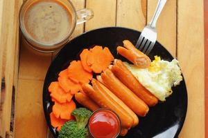Frühstück - Kaffee foto