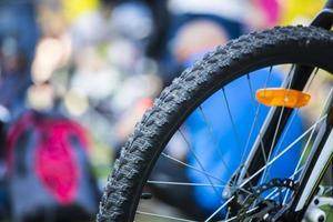 Fahrrad-Rad foto