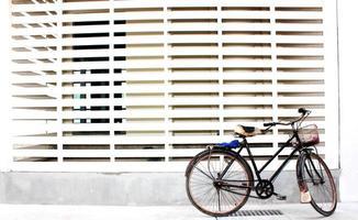 das Fahrrad alt foto