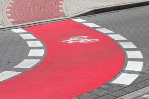 Fahrradweg foto