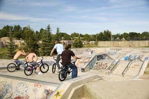 Skatepark abhängen foto