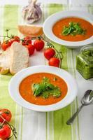 Tomatensuppe mit Gremolata