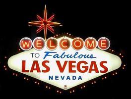 Willkommen im fabelhaften Las Vegas foto