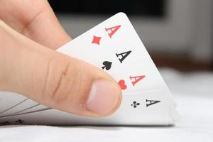 Pokerkarten foto