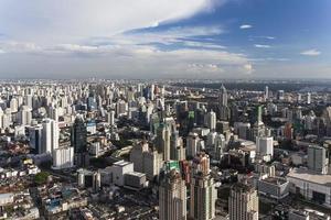 Skyline von Bangkok foto