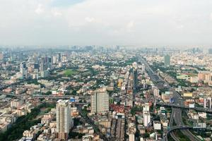 Blick auf Bangkok foto