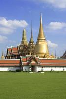 Smaragd Buddha Tempel, Thailand foto