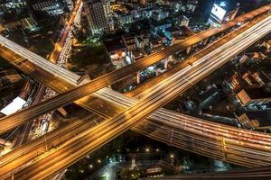 Schnellstraße der Stadt Bangkok foto