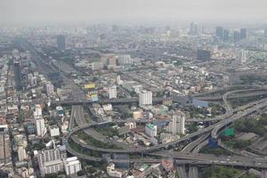 Smog über Bangkok foto