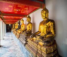 Bangkok, goldene Statuen