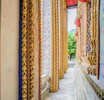Wat Phra Kaew in Bangkok - Tempel des Smaragd Buddha foto