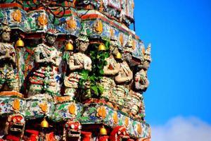 thailändische Chedis foto