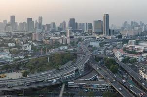 Schnellstraße in Bangkok foto