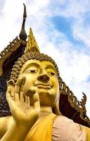 Nahaufnahme Buddha Bild foto