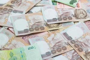 Thailand Banknoten Preis von fünfhundert für den Hintergrund foto