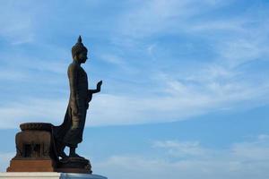 größerer Buddha. foto