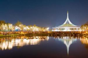 öffentlicher park, suanluang rama 9, bangkok, thailand foto