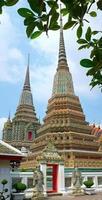 Wat Pho Tempel in Bangkok foto