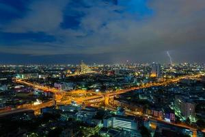Bangkok Schnellstraße mit Thunderbolt, Bangkok, Thailand
