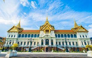 Grand Palace und Wat Phra Kaew Tempel foto