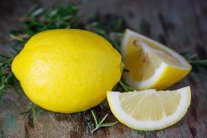 frische Zitronen foto