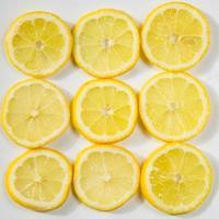 Zitronenscheibe foto