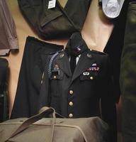 Militäruniformen foto