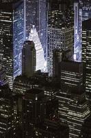 Wolkenkratzer in New York, Manhattan foto
