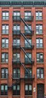 Mietshaus in Manhattan, New York foto