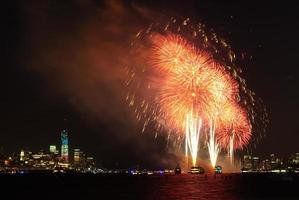 4. Juli Feuerwerk in New York foto