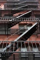 Fluchttreppe in Manhattan foto