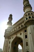 Charminar Moschee in Hyderabad foto