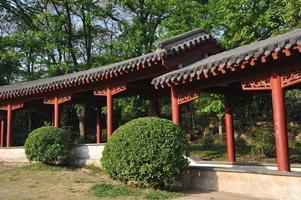 chinesische Architektur foto