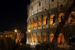 Nacht Kolosseum foto