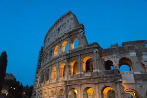 Kolosseum in Rom, Italien foto